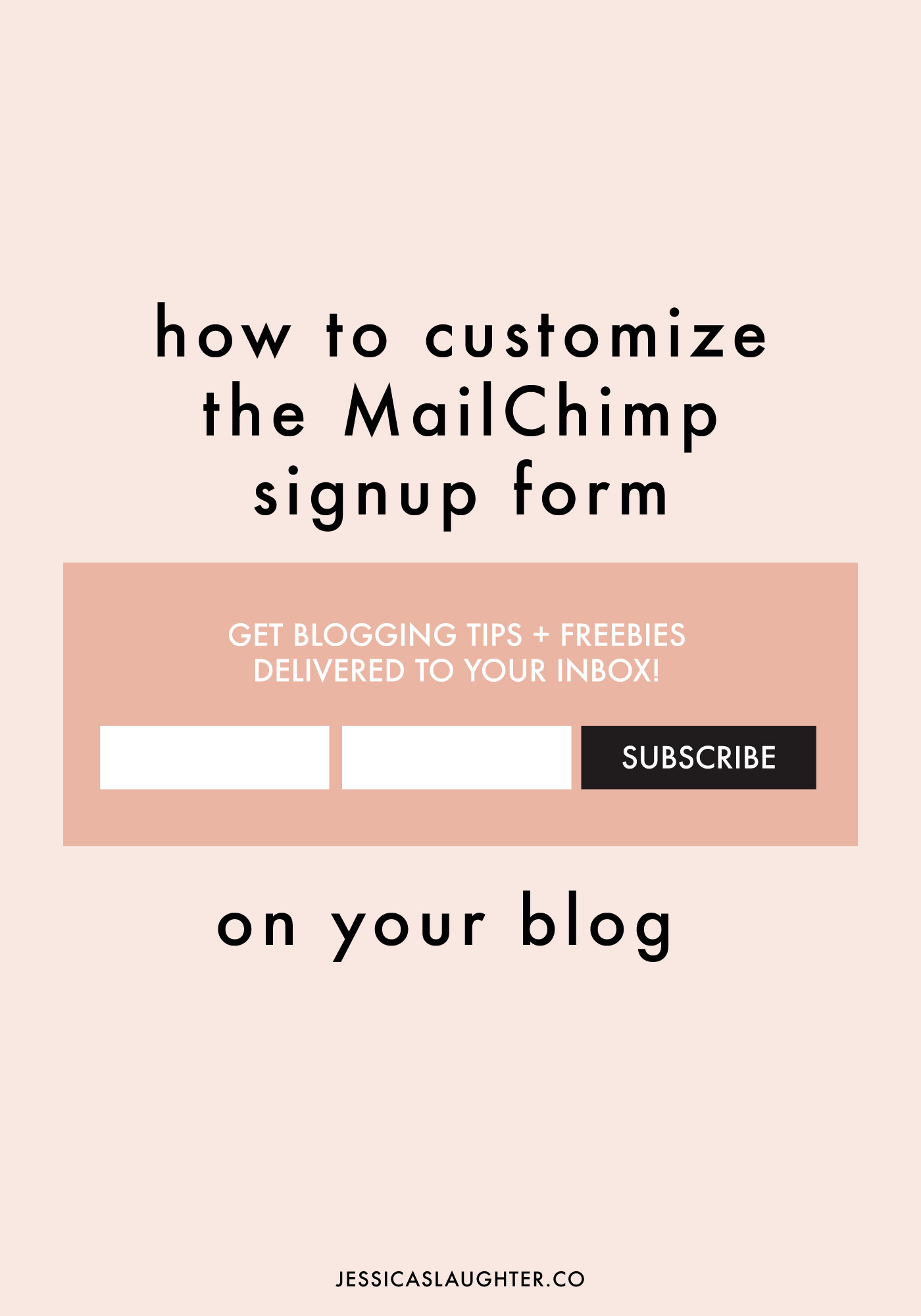 how to customize the mailchimp signup form. Black Bedroom Furniture Sets. Home Design Ideas