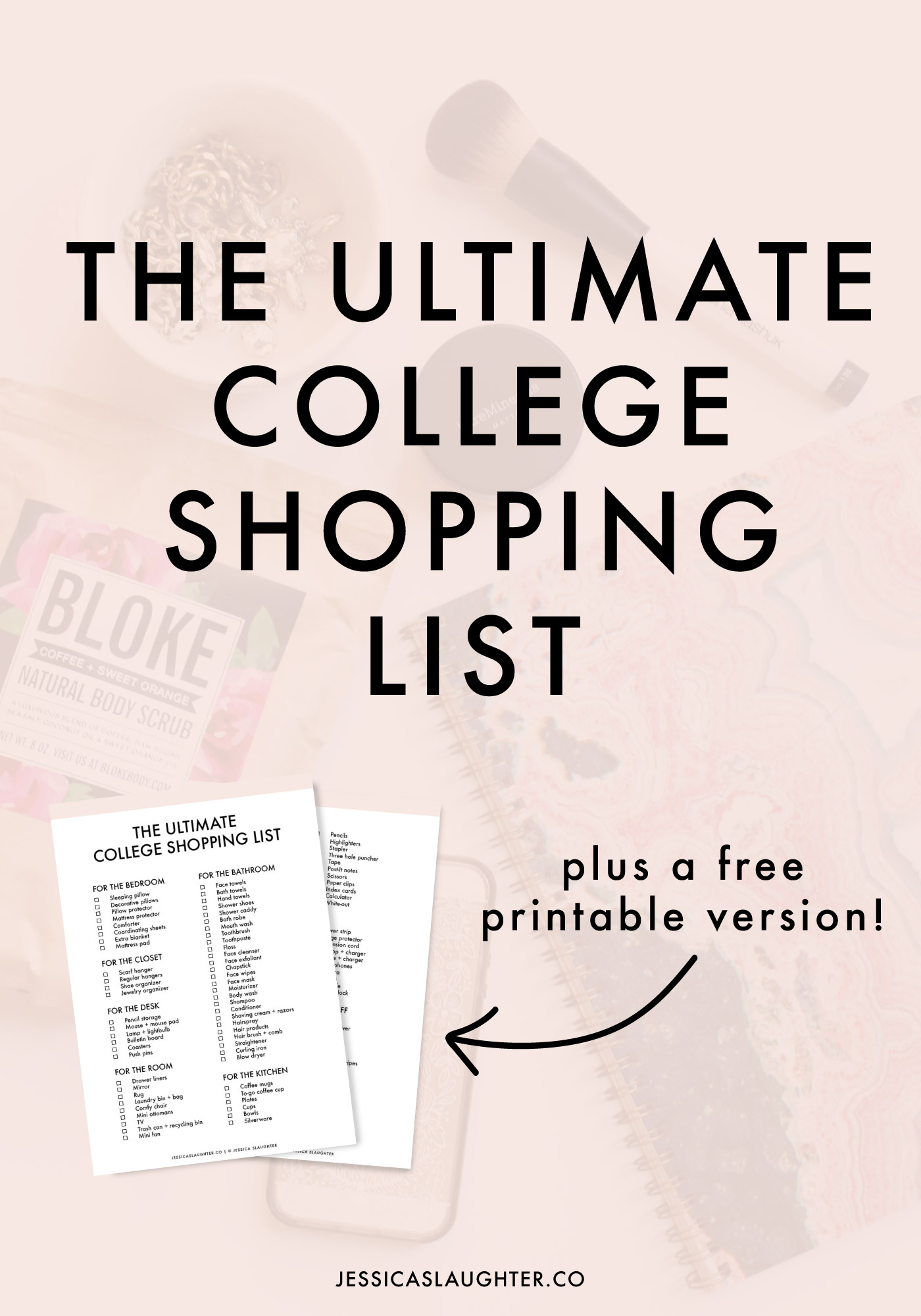 . The Ultimate College Shopping List   Jessica Slaughter