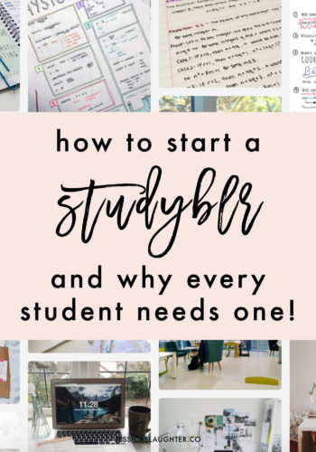 Starting a studyblr takes less than 10 minutes and will seriously change your study habits!